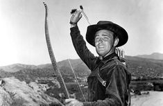 Wispering Smith (1948) | Alan Ladd | But why the bow and arrows?