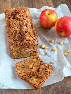 apple cinnamon cake with nuts