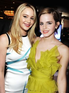 Jenifer Lawerence and Emma Watson my 2 favorite actresses. Great role models.