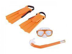 Kit de Mergulho Nautika Divers 4 Peças - com Máscara Respirador Bolsa e Nadadeiras