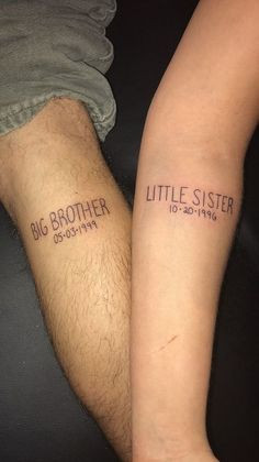 25 Sibling Tattoos Make Relationship with Your Partner More Tightly
