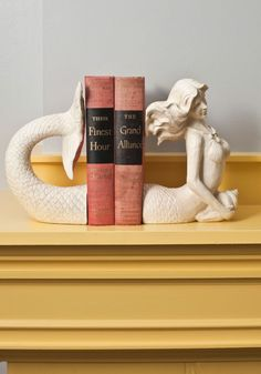Mermaid bookshelves