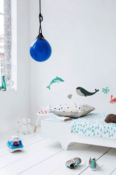 Ocean Inspired Kids' Rooms - by Kids Interiors