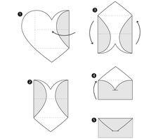 Imprime y mota grAtis estos sobres para cartas y sorprende con una nota de amor. Recortables gratis para divertirse y ahorrar.