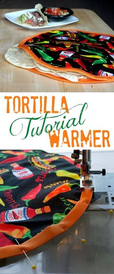 How Make a DIY Fabric Tortilla Warmer {Tutorial} | The Good Hearted Woman