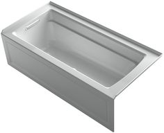 Archer BubbleMassage™ Whirlpool Bath with Integral Apron and Left-Hand Drain