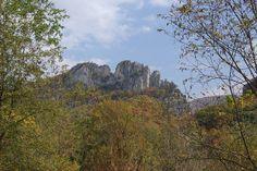 wv native american tribes   Seneca Rocks State Park, Pocahontas County, West Virginia