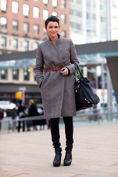 Trendy Madness: Street Style: New York Fashion Week Fall 2012
