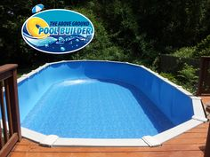 24 39 Round Antilles Dolphin Overlap Swimming Pool Liner Available In Many Other Sizes As Well