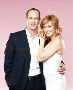 Elliot & Olivia // Christopher & Mariska  Law & Order SVU