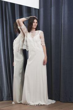 TOP ALI - Stéphanie Wolff Paris #collection2017 #wedding #robedemariéesurmesure #créatriceparis Crédit photo : Alice Bee