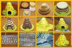 Step by step bee hive cake!