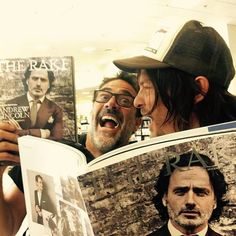 Norman and Jeffrey are highly amused