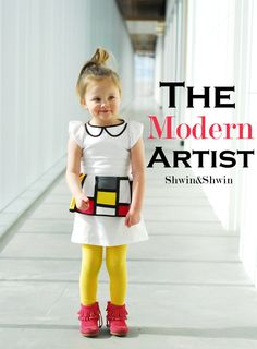 The Modern Artist {Tutorial of sorts} - Shwin and Shwin