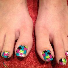 New minx toe nails