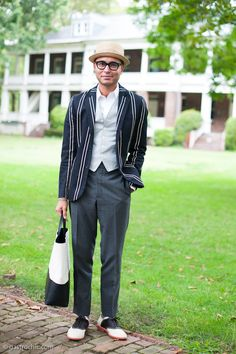 Street Chic: Boating Blazer and Saddle Shoes, Jazz Age Lawn Party