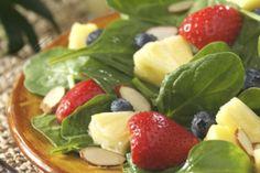 Berry Pineapple Salad