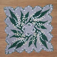 Vintage Lily Of The Valley With Bell Wedding Greeting Card
