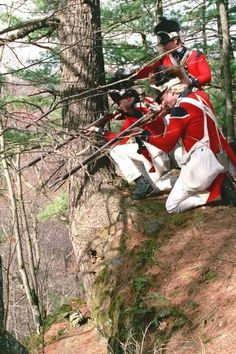 British Guards 1776 turning the tables on the Rebel Americans