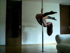 Pole Dance Tutorial: Air Invert - YouTube Learned this yesterday, very hard but fun!