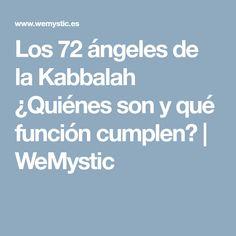 Los 72 ángeles de la Kabbalah ¿Quiénes son y qué función cumplen? | WeMystic