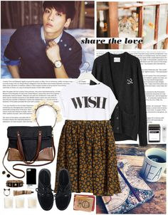 """share the love"" by hellounicorn ❤ liked on Polyvore"