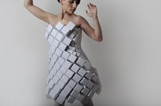 what could be more classic than being clad in cubes?