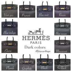 e are some standard Hermes colors and how it looks on the Birkin. I've taken these pictures from various sources and complied them for easy reference. Hermes Birkin, Hermes Purse, Hermes Bags, Hermes Handbags, Burberry Handbags, Purses And Handbags, Luxury Bags, Luxury Handbags, Gucci