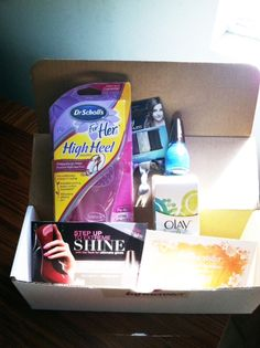 Sun Kissed Vox Box from #Influenster   #DrSchollsStrut   @Goody Hair / #Ouchless  @Olay Fresh Effects / #TBA  @SinfulColors_NP / #SinfulShine