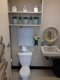 """We even try to make our bathroom a """"relaxing"""" place to be!"""