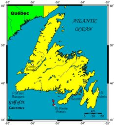 "Newfoundland: ""Terra Nova"": large Canadian island off east coast of North American mainland; most populous part of the Canadian province of Newfoundland and Labrador; visited by the Icelandic Viking Leif Eriksson in the 11the century"