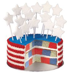4th of july cake pans