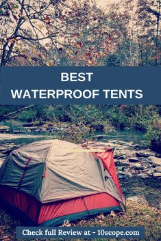 Looking for the best tents for heavy rain? Here we come up with a list of best waterproof tents that you can use in heavy weather condition and rain. Waterproof Tent, Cool Tents, Weather Conditions, Outdoor Gear, Rain, Camping, Check, Top, Free