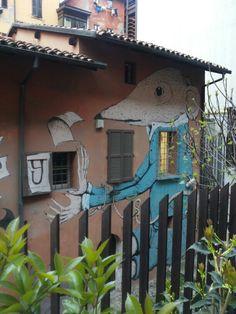 Ericailcane Bartleby - Bologna, via Capo Di Lucca