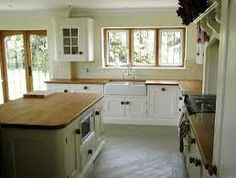 Shaker style country kitchen