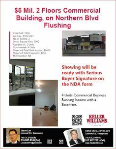 Realtor Steve NY: $5 Mil, 2Floors Commercial Building Northern Blvd ...