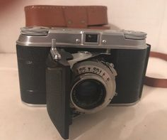 VOIGTLANDER VITO II a 35mm Film Camera And Leather Case #Voigtlander
