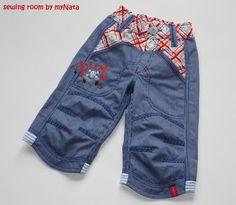"sewing for boys  ...pirat...pants  pattern ""Pitt"" by farbenmix.de  embroidery Kunterbuntdesign.de"