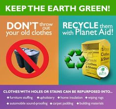 Did you know that Americans throw away 12 million tons of textiles every year?