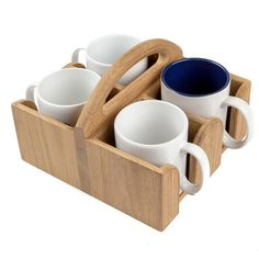 Woodworking Projects Diy, Diy Wood Projects, Woodworking Plans, Wood Crafts, Coffee Cup Holder, Mug Holder, Coffee Pod Storage, Do It Yourself Organization, Coffee Pods