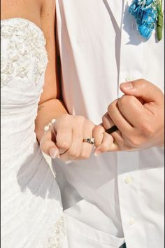 Pinky promise Beach Wedding Grand Plaza St Petersburg, FL Photgraphy by Tiffany Pierce Photography