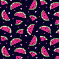 Tecido Tricoline Frutas DX5317-3 - Abacaxi, Banana, Melancia e Morango Geometric Wallpaper Iphone, Wallpaper Iphone Cute, Love Wallpaper, Galaxy Wallpaper, Cute Wallpapers, Tumblr Wallpaper, Wallpaper Backgrounds, Watermelon Wallpaper, Wallpaper Fofos