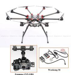 FlyingVideoPro - DJI S1000 PREMIUM   ZENMUSE Z15-GH4 (HD)   WKM COMBO, $6,199.00 (http://flyingvideopro.com/dji-s1000-premium-zenmuse-z15-gh4-hd-wkm-combo/)