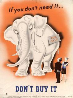 mcgill poster elephant image