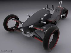 25 Tricked-Out Trikes - From Eco Solar Cars to Bumblebee Smart Cars (CLUSTER)