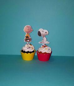 12 Charlie Brown película partido Snoopy por PishPoshPartique