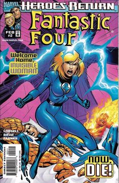Marvel Fantastic Four comic issue 2