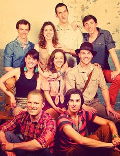 These flawless carbon-based humans. I love them. #apocalyptour #starkid