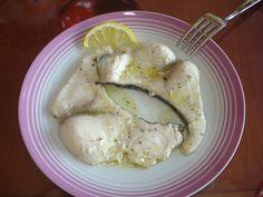 pesce spada in padella con aglio e origano