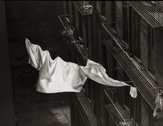Norman Lerner-Sheets On a Clothesline